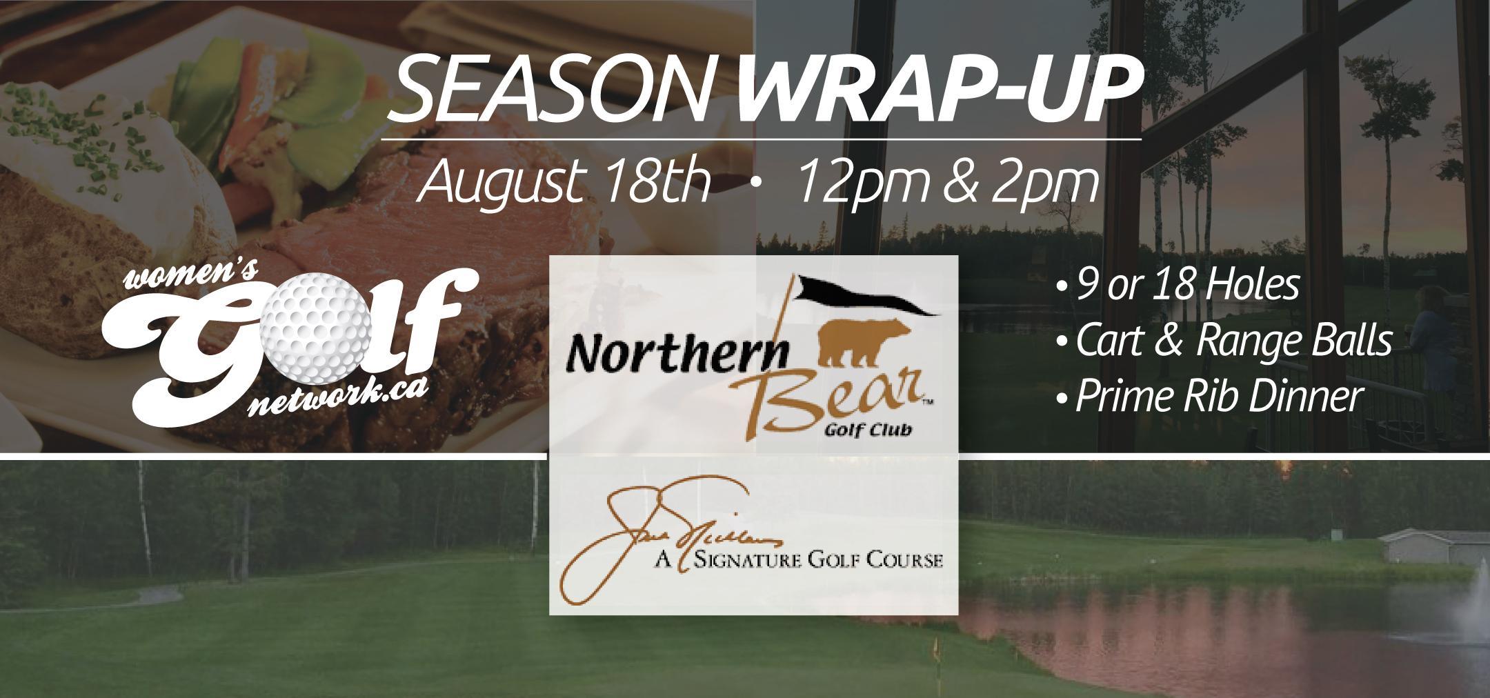 Northern Bear Season Wrap-Up - Edmonton Women's Golf