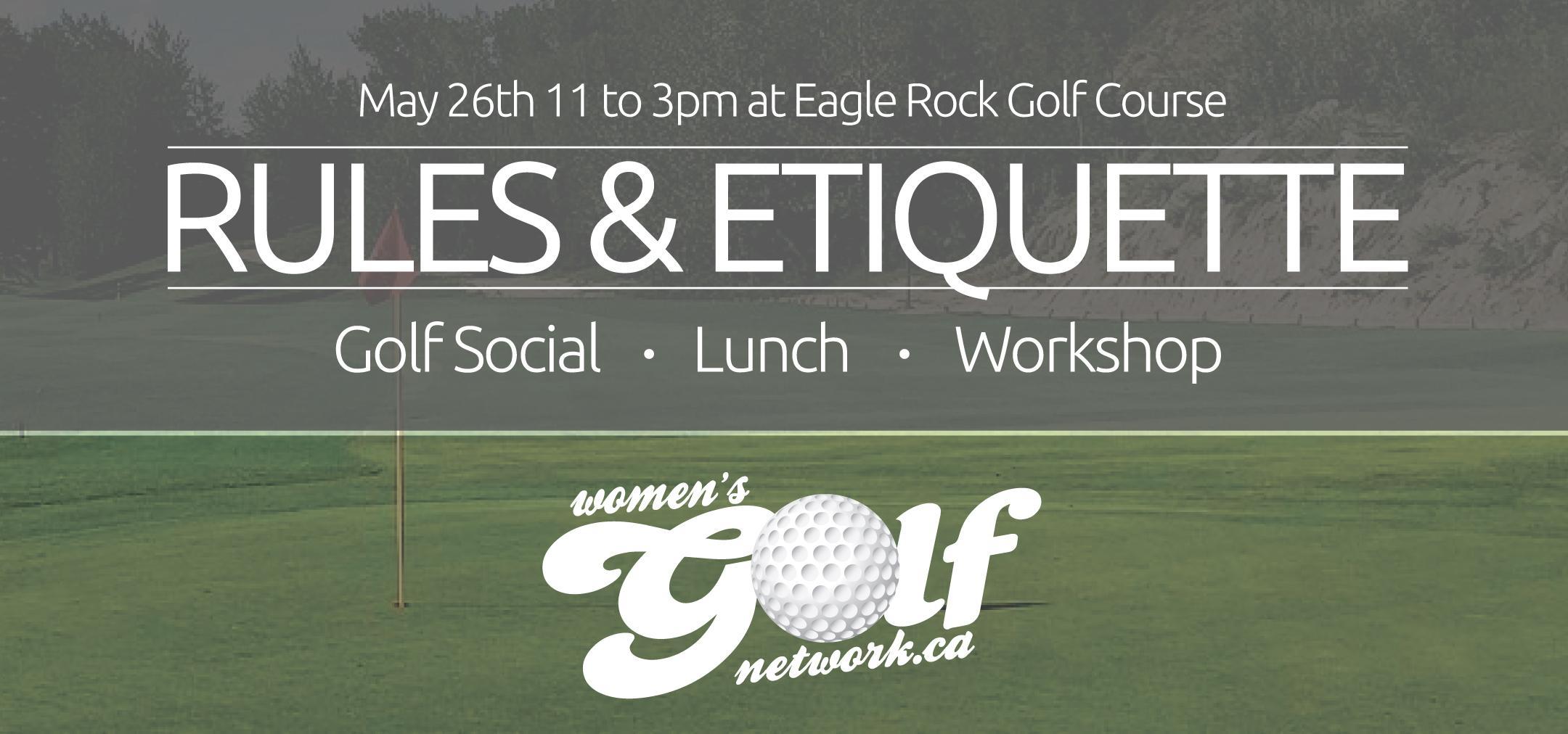 Rules & Etiquette Workshop Luncheon - Edmonton Women's Golf