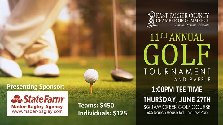 11th Annual Golf Tournament and Raffle
