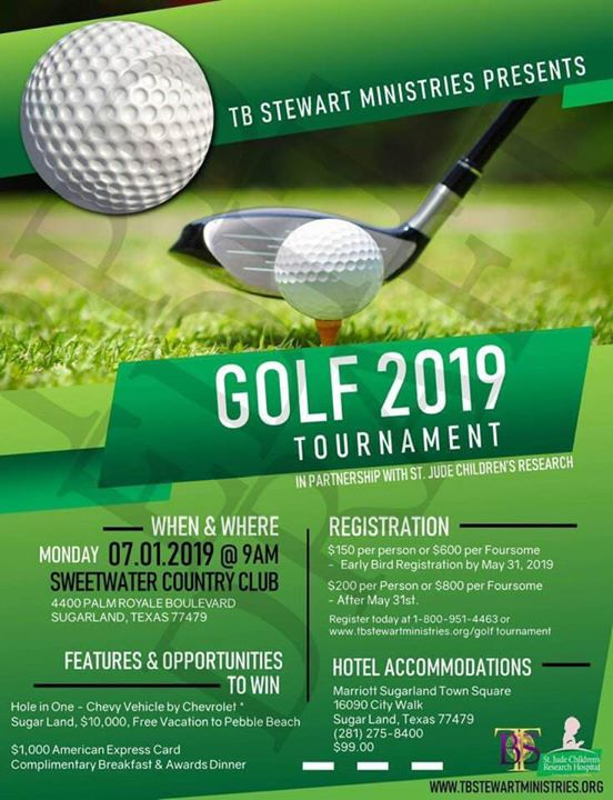 3rd Annual T.B.S.M. Golf Tournament