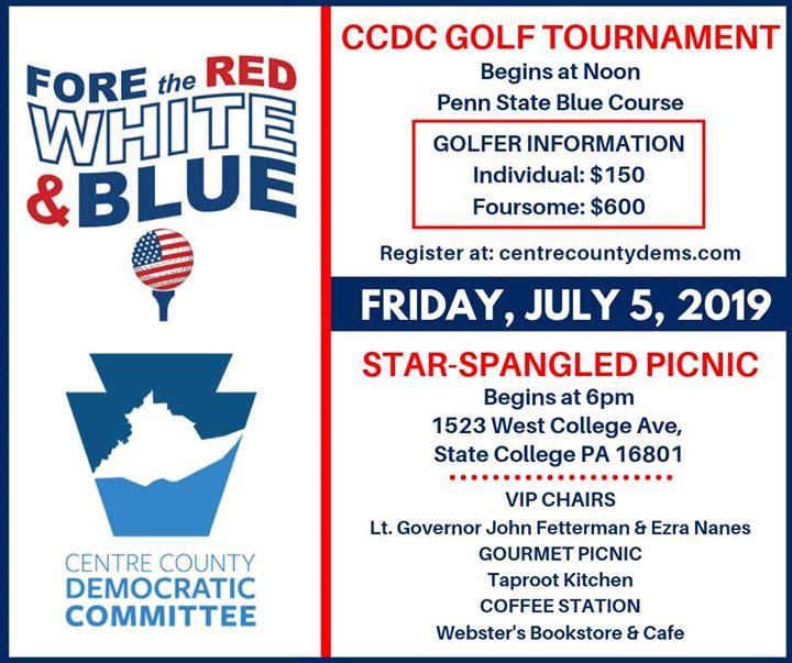CCDC Golf Tournament & Star-Spangled Picnic