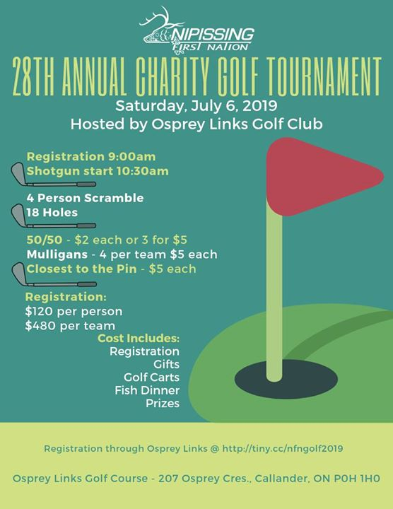 28th Annual Charity Golf Tournament