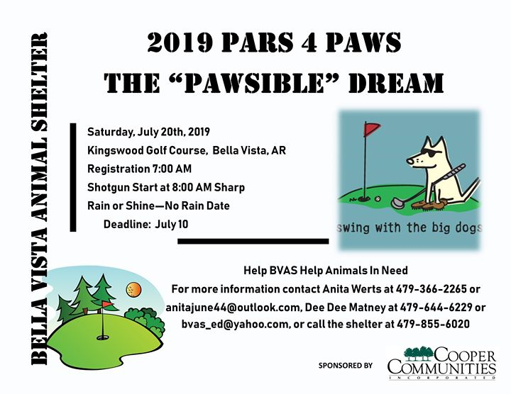 Pars 4 Paws Charity Golf Tournament