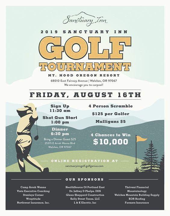 2019 Sanctuary Inn Golf Tournament
