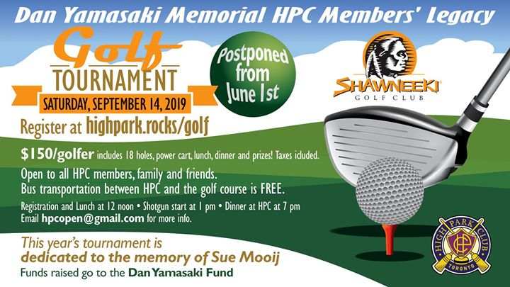 2019 Dan Yamasaki Memorial HPC Golf Tournament