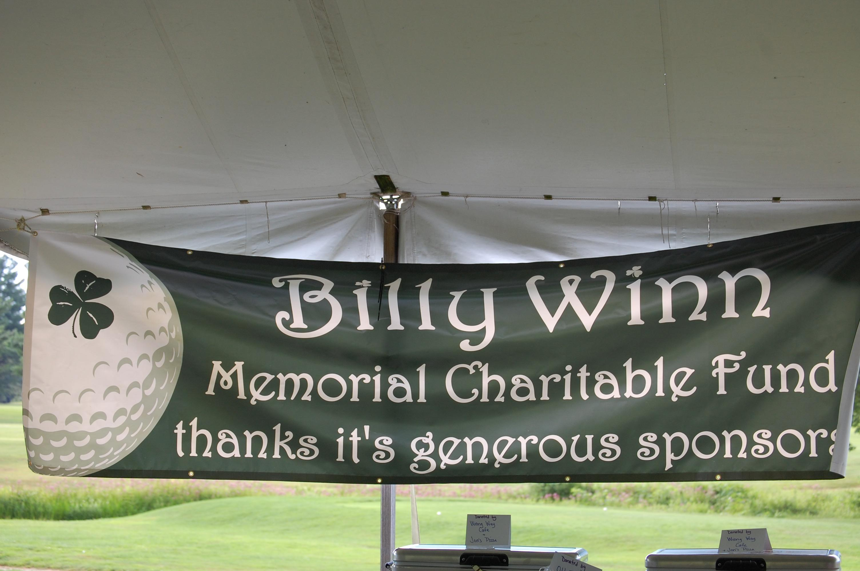 10th Annual Billy Winn Memorial Golf Tourney
