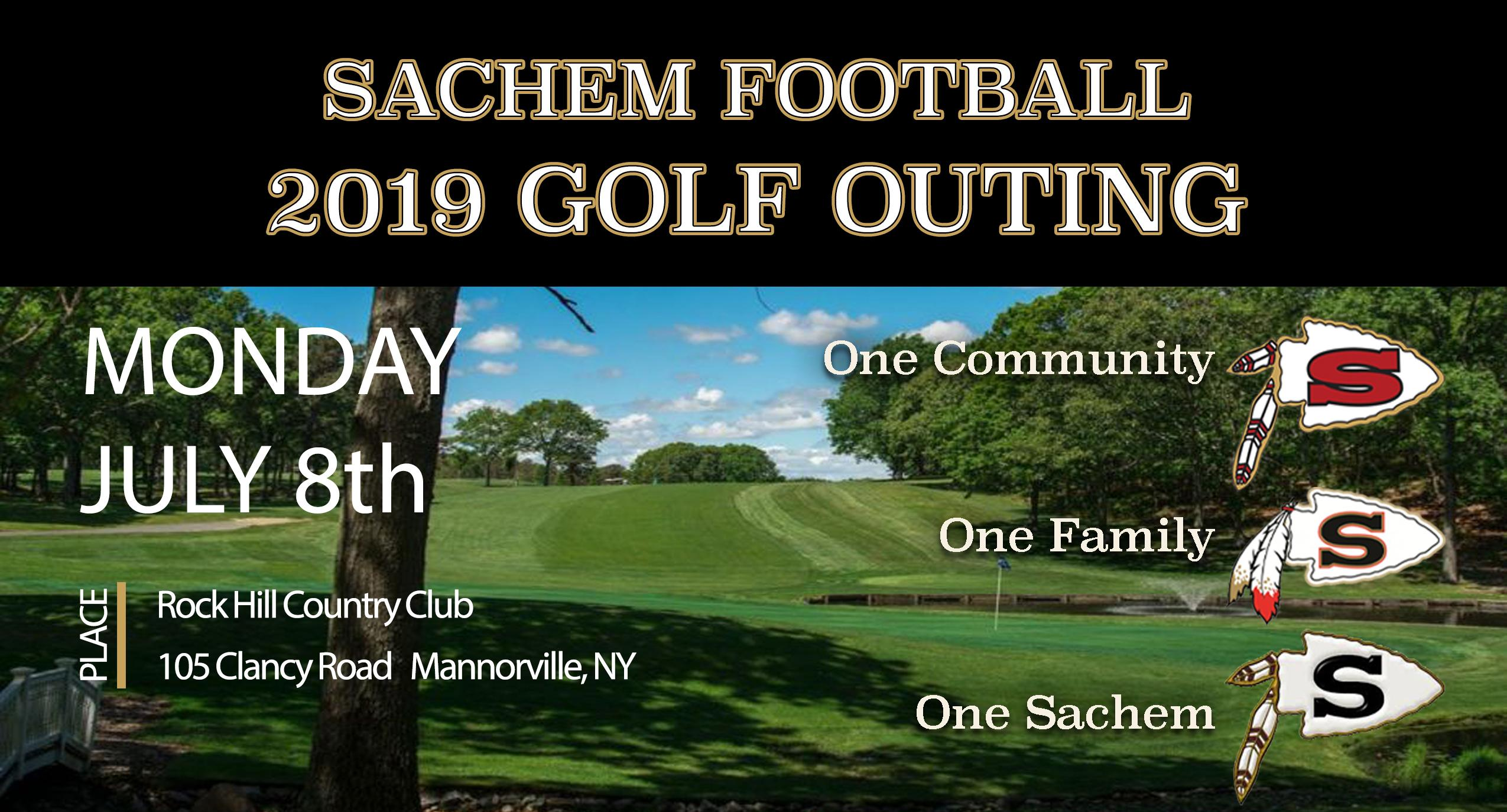 2019 Sachem Football Golf Outing