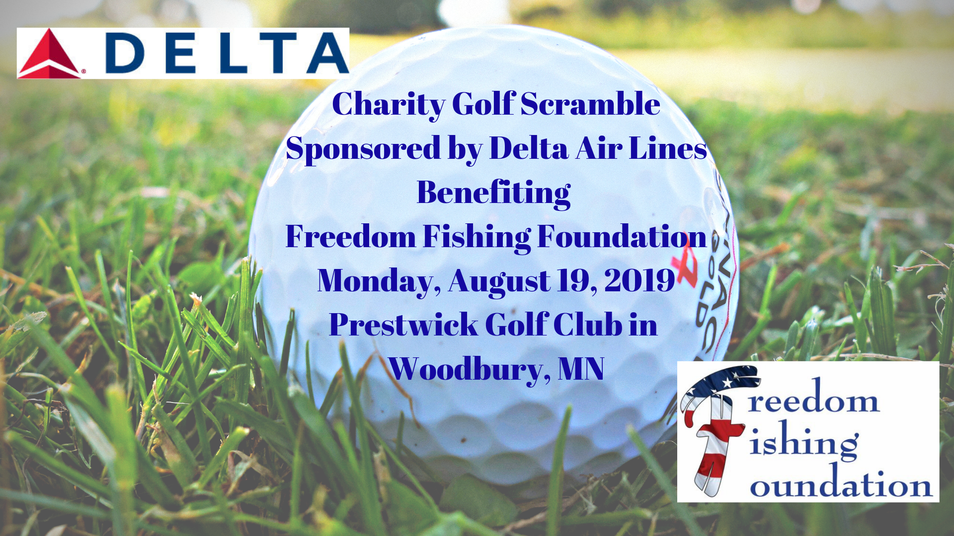 2019 Charity Golf Scramble Sponsored by Delta Air Lines