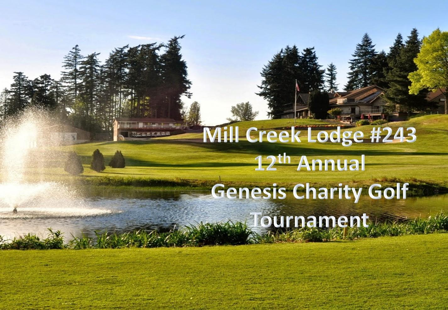 12th Annual Genesis Charity Golf Tournament