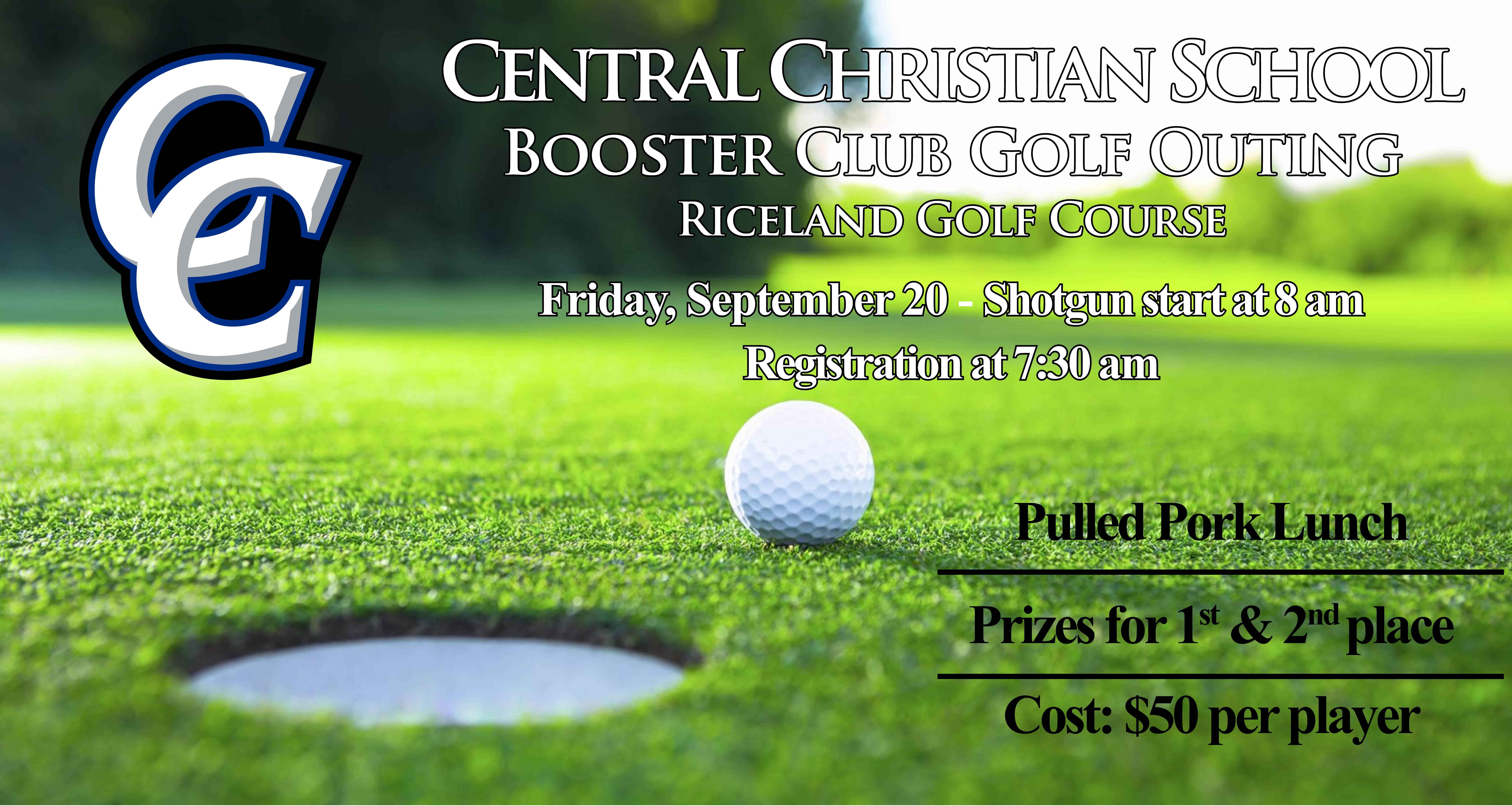 Central Christian Booster Club Golf Outing
