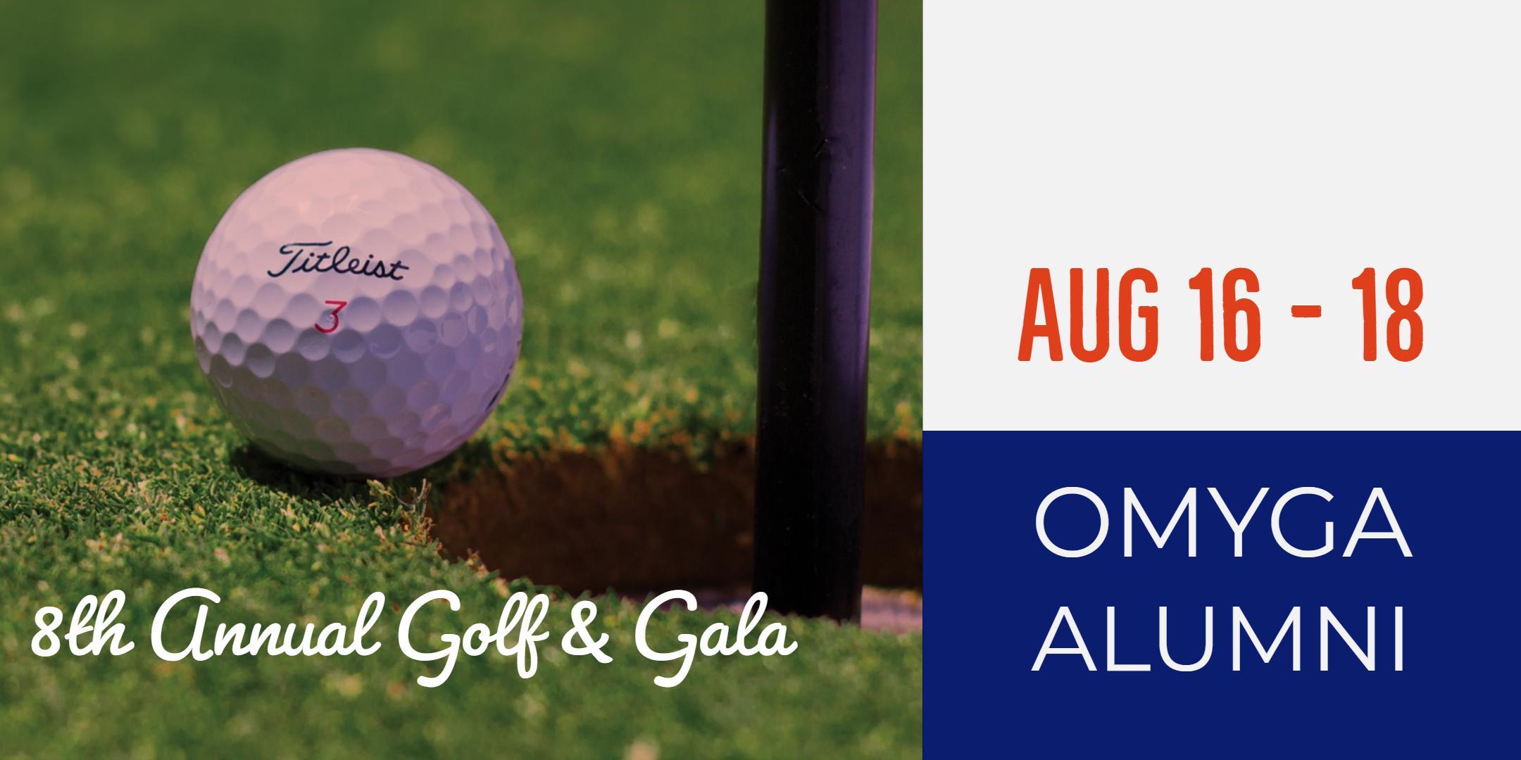The 8th Annual OMYGA Alumni Golf & Gala Event