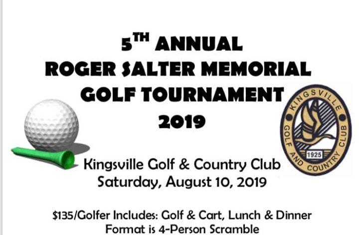 5th Annual Roger Salter Memorial Golf Tournament