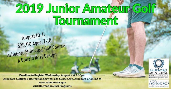 Junior City Amateur Golf Tournament