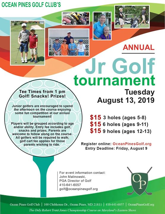 Ocean Pines Junior Golf Tournament