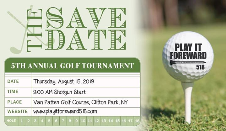 5th Annual Play It Foreward 518 Golf Tournament