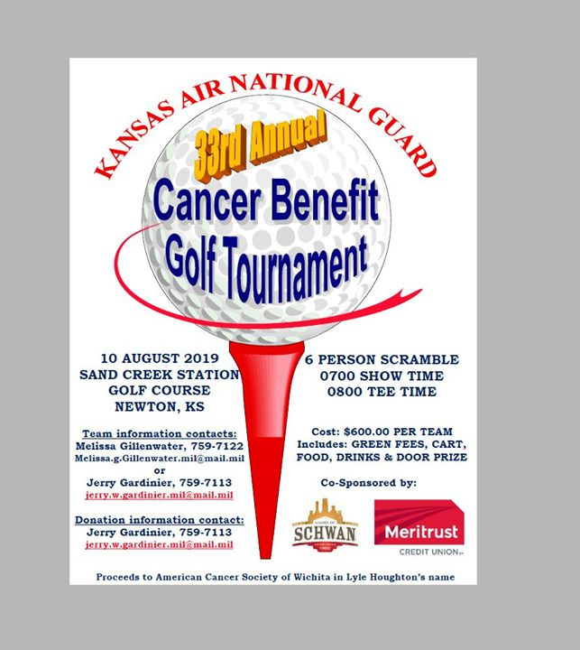 33rd Annual Lyle Houghton Cancer Benefit Golf Tournament