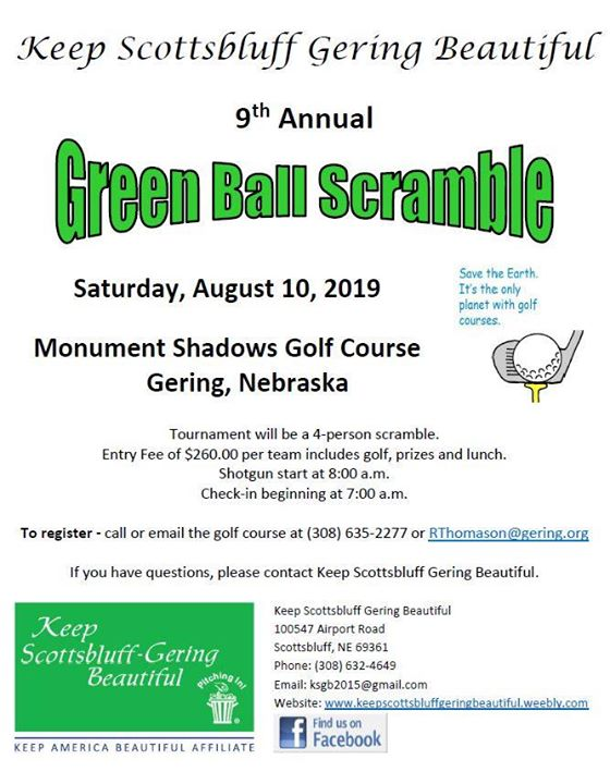 KSGB 9th Annual Green Ball Scramble Fundraising Golf Tournament