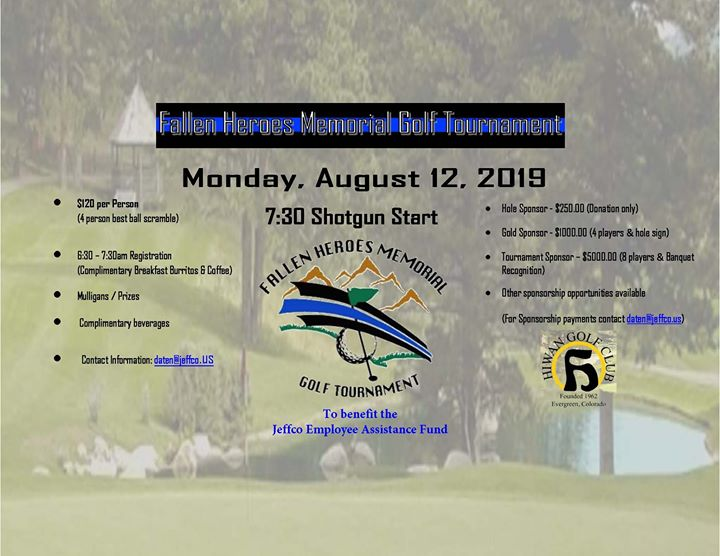 Fallen Heroes Memorial Golf Tournament