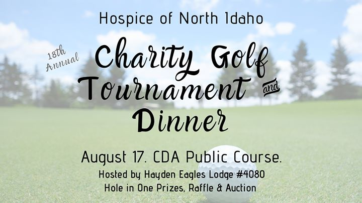 Hospice Golf Tournament, Dinner and Auction