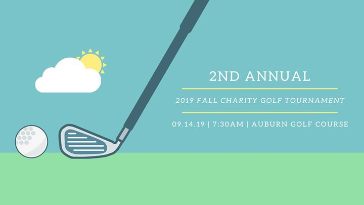 2019 2nd Annual Fall Charity Golf Tournament