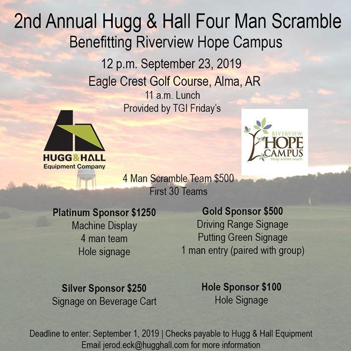 2nd Annual Hugg & Hall Golf Tournament