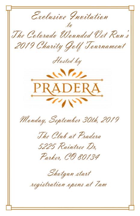 CWVR/Pradera Golf Tournament