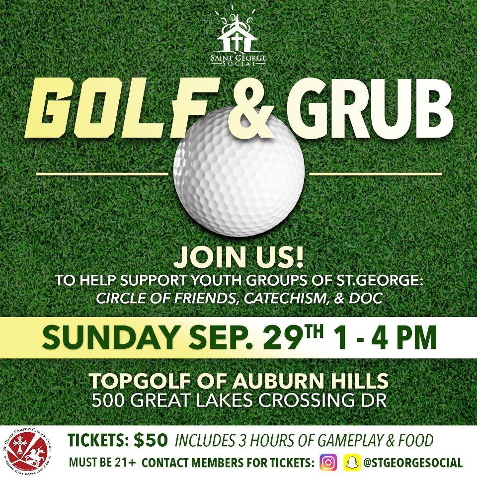 St. George Social's Golf & Grub Fundraiser