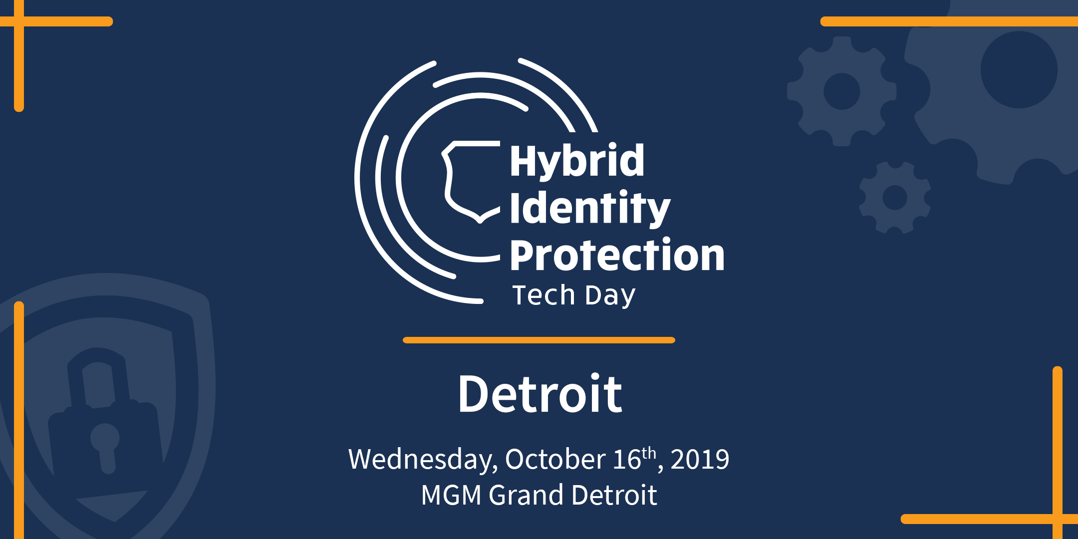 Hybrid Identity Protection Tech Day: Detroit [Followed by TopGolf]