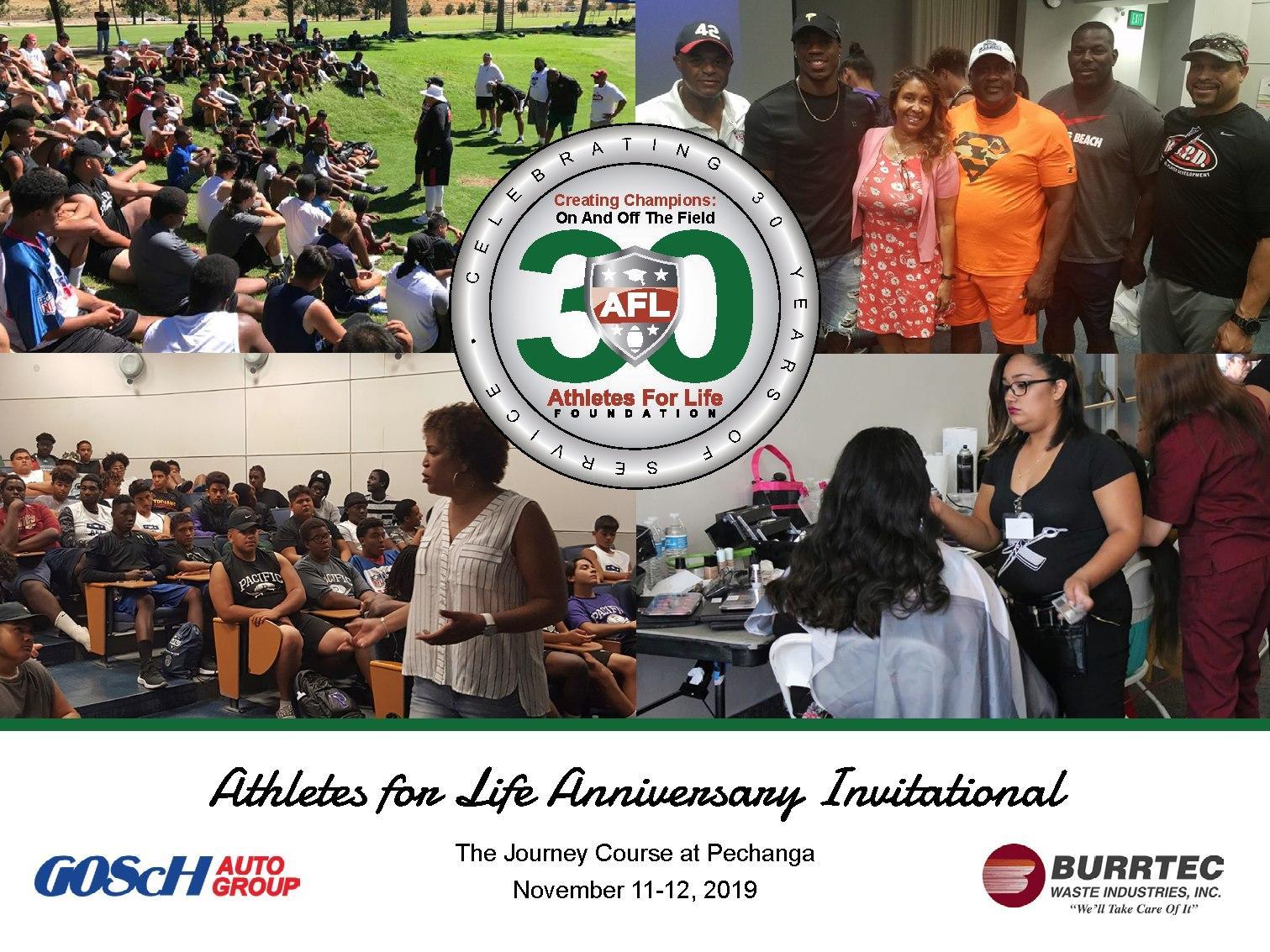 Athletes for Life Anniversary Golfing Invitational