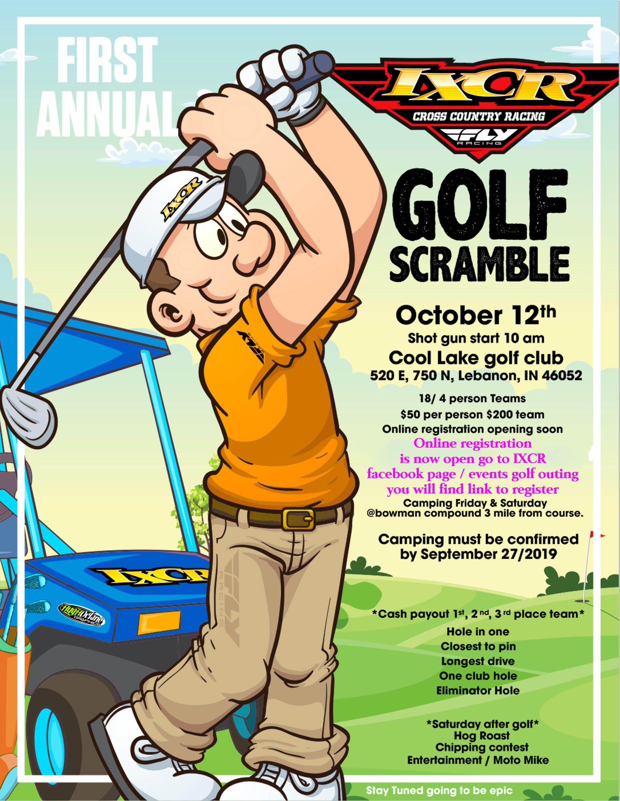 IXCR 1st Annual Golf Outing