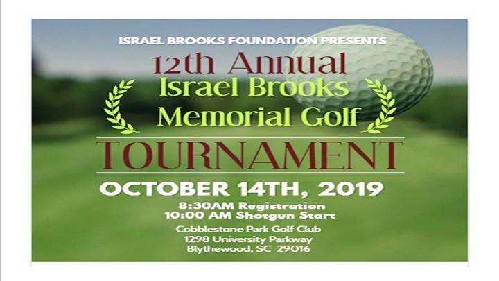 12th Annual Israel Brooks Memorial Golf Tournament