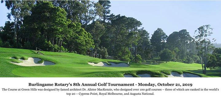 Burlingame Rotary's 8th Annual Golf Tournament