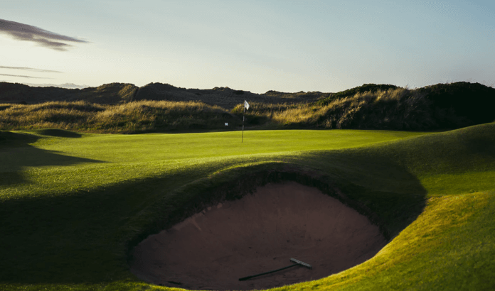 Golf Course Bunker 1