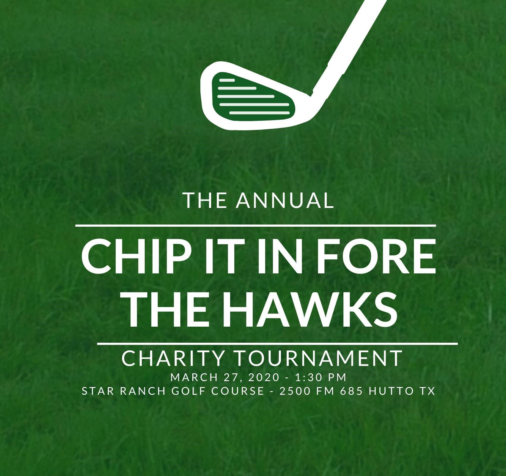 HHS Golf Tournament - Chip it in FORE the Hawks!