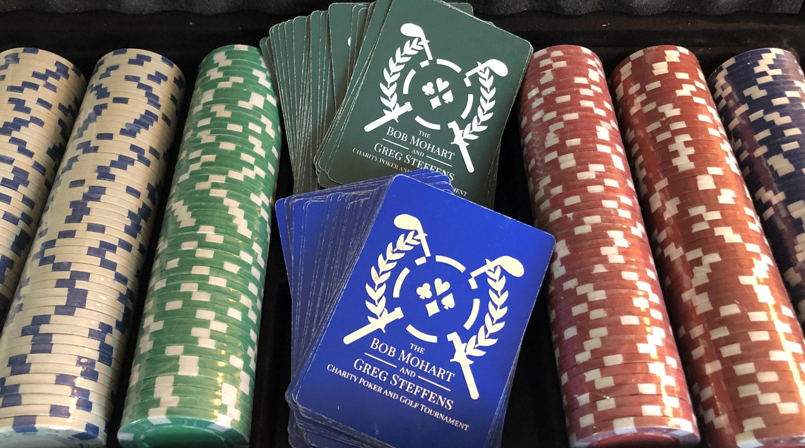 Bob Mohart and Greg Steffens Charity Poker and Golf Tournament