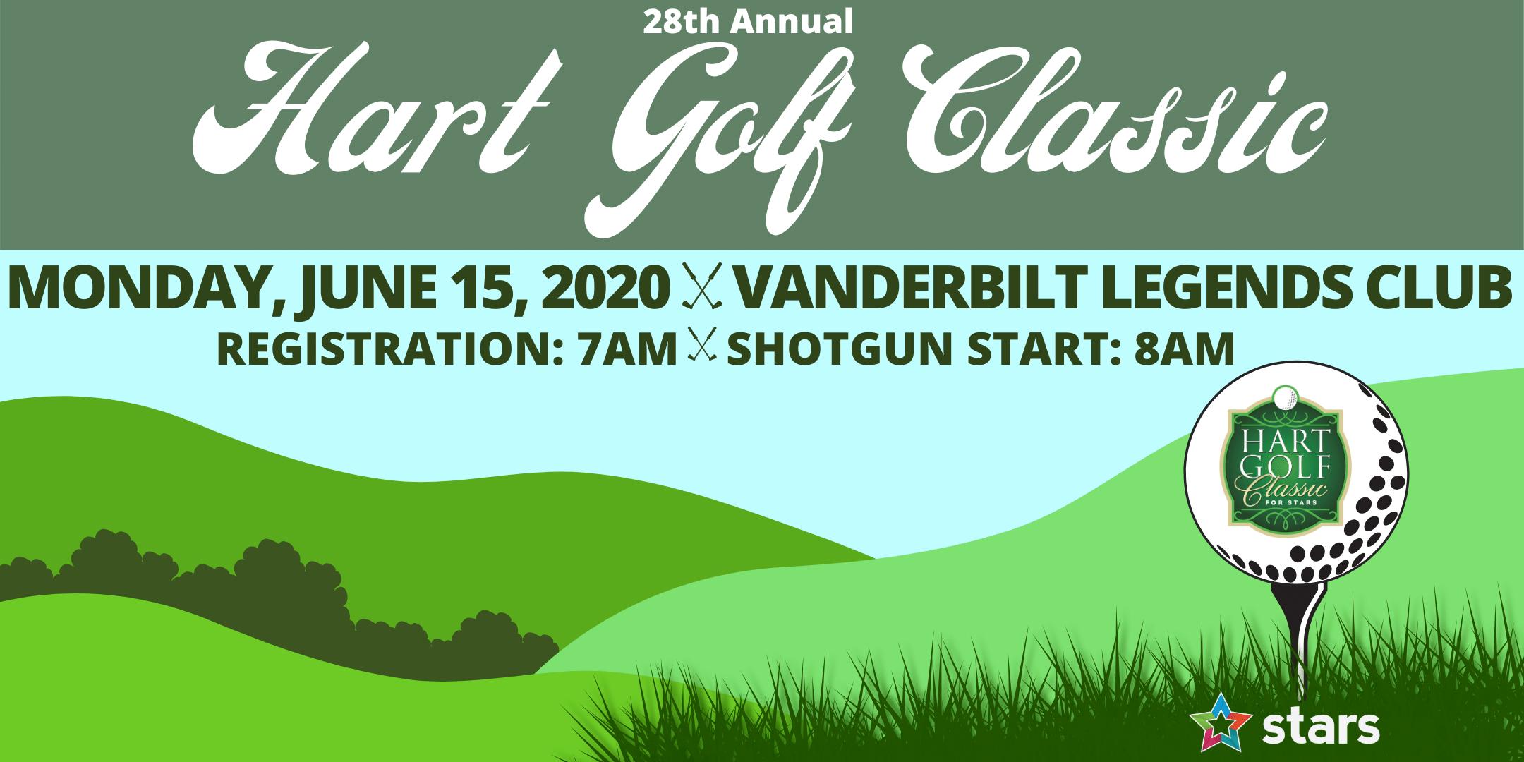 28th Annual Hart Golf Classic Benefiting STARS