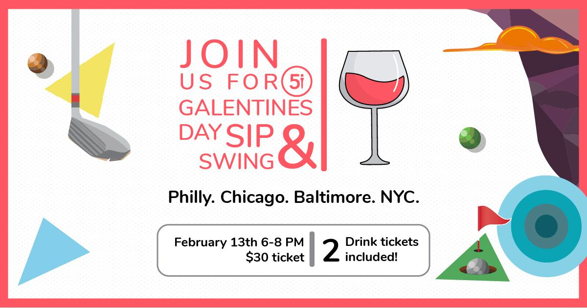 Sip & Swing - NYC Golf Event for Women