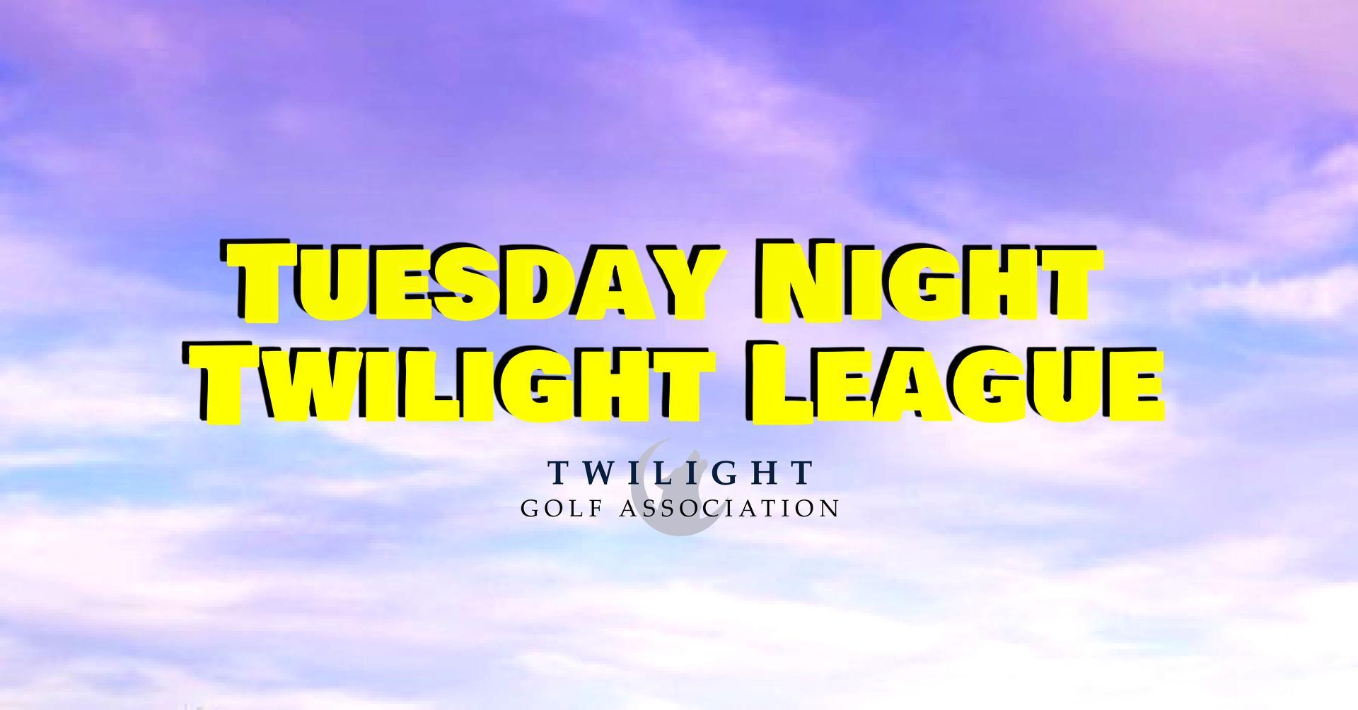 Tuesday Twilight league at Fellows Creek Golf Club