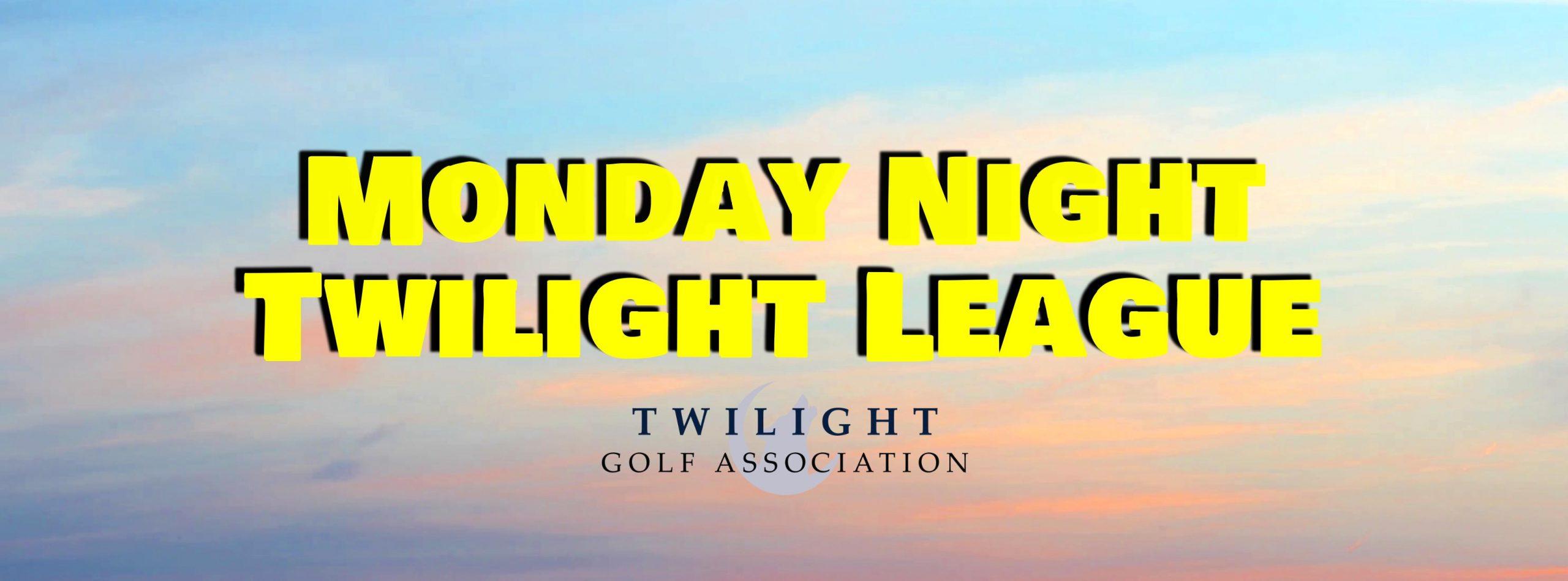 Monday Night Twilight League at Elks Run Golf Club