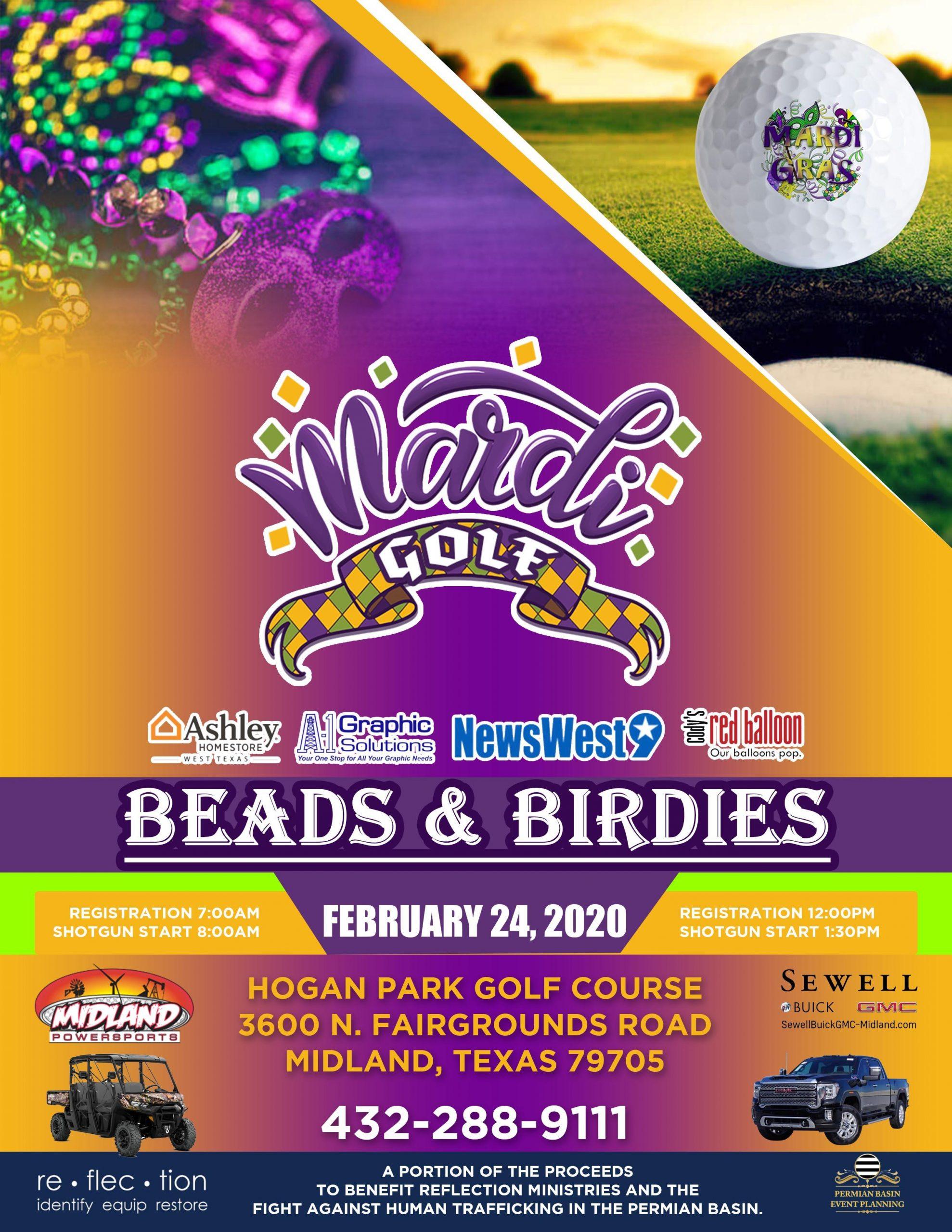 Mardi Golf-Beads & Birdies