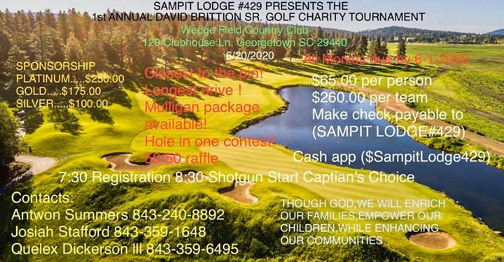 Golf Charity Tournament