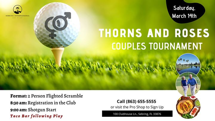 Thorns and Roses - Couples Golf Tournament
