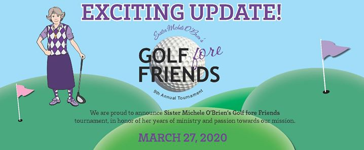 Sister Michele O'Brien's Golf fore Friends Tournamaent