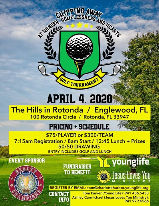 JLYM & Young Life Golf Tournament