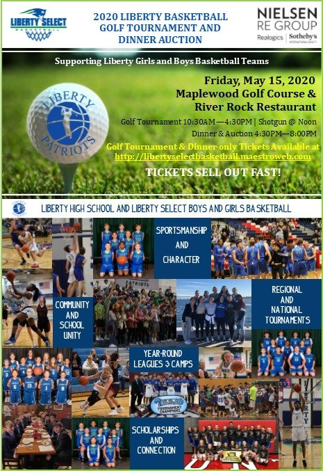 Annual Liberty Golf Tournament & Dinner Auction