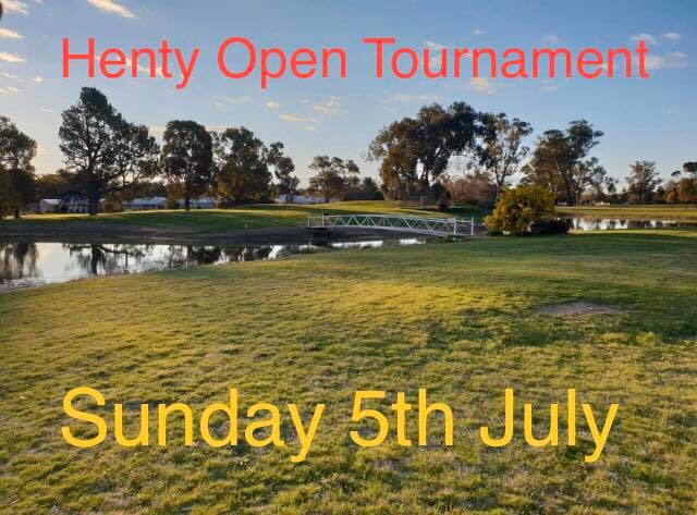 Henty Open Tournament
