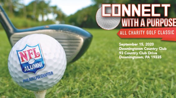 "NFL Alumni Philadelphia ""Connect with A Purpose"" Golf Tournament"