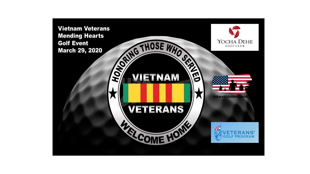 Vietnam Veterans, Mending Hearts Golf Event