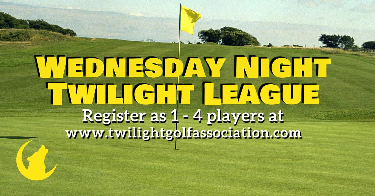 Wednesday Twilight League at Forest Hills Golf Course