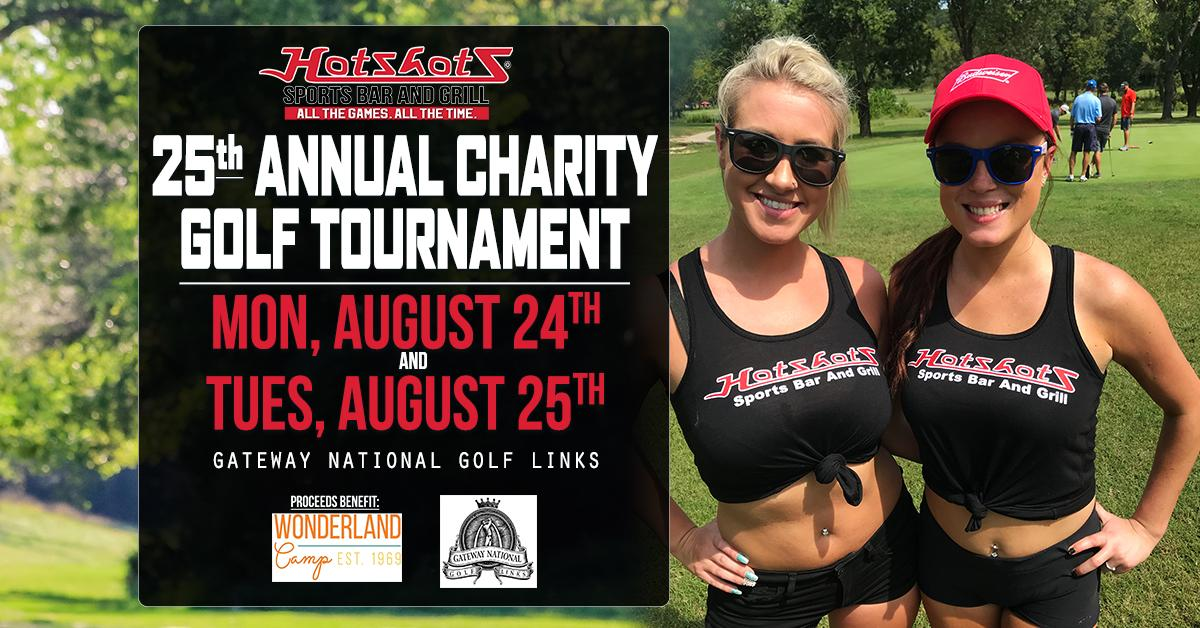 2020 Hotshots Sports Bar & Grill Charity Golf Tournament - MONDAY